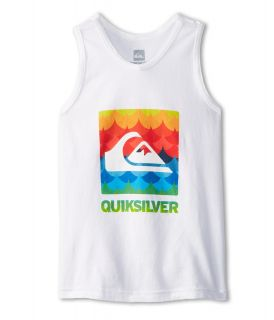 Quiksilver Kids Charade Tank Boys Sleeveless (White)