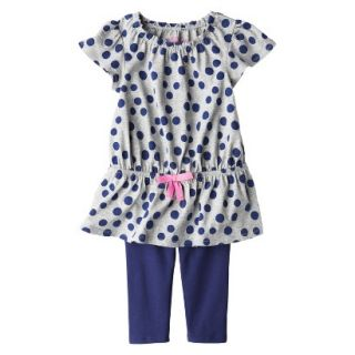 Genuine Kids from OshKosh Infant Toddler Girls Polkadot Tunic & Legging Set