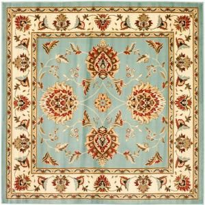 Safavieh Lyndhurst Blue/Ivory 6 ft. 7 in. x 6 ft. 7 in. Square Area Rug LNH555 6512 7SQ