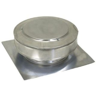 Active Ventilation 8 in. Aluminum Round Roof Vent in Mill Finish RBV 8