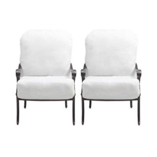 Hampton Bay Edington 2013 Patio Lounge Chair with Bare Cushion (2 Pack) 131 012 LC2 NF