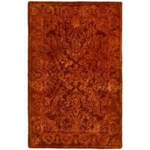 Safavieh Silk Road Rust 2 ft. x 3 ft. Accent Rug SKR213E 2