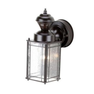 Heath Zenith Shaker Cove Mission 150 Degree Outdoor Oiled Rubbed Bronze Motion Sensing Lantern SL 4133 OR