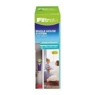 Filtrete Large Capacity High Performance Whole House Standard Filtration System 4WH QCTO S01