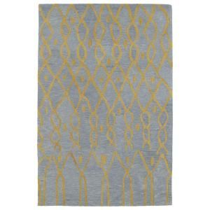 Kaleen Casablanca Light Blue 5 ft. x 8 ft. Area Rug CAS06 79 5 X 8