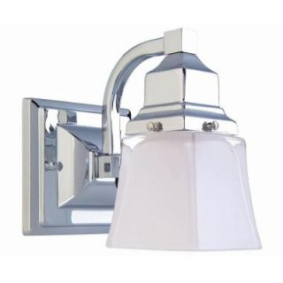 Hampton Bay 1 Light Chrome Bath Light 05658