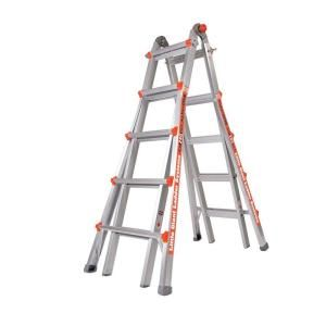 Little Giant Ladder Alta One 22 ft. Aluminum Multi Position Ladder with 250 lb. Load Capacity Type I Duty Rating 14016 001