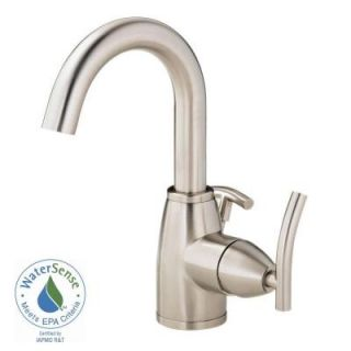 Danze Sirius 4 in. Single Handle Bathroom Faucet in Brushed Nickel with Side Handle D221544BN
