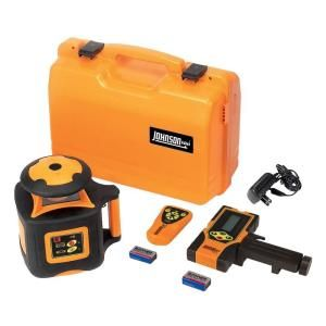 Johnson Electronic Self Leveling Horizontal Rotary Laser Level 40 6535