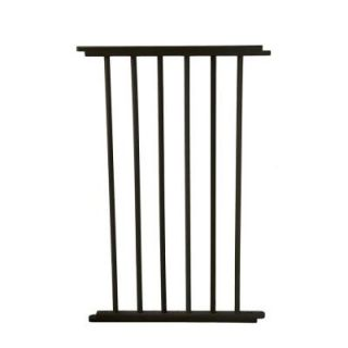 Cardinal Gates 20 in. Black Extension for VersaGate VG20 BKP