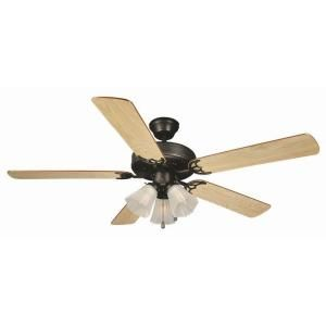 Design House Millbridge 52 in. Oil Rubbed Bronze Ceiling Fan EP 153932