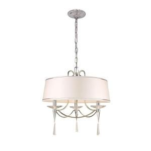 Hampton Bay Halina Collection 3 Light Drum Pendant 21343 018