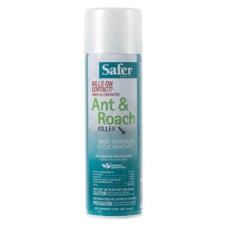 Safer Brand Ant and Roach Killer Poison Free Aerosol Spray 5720