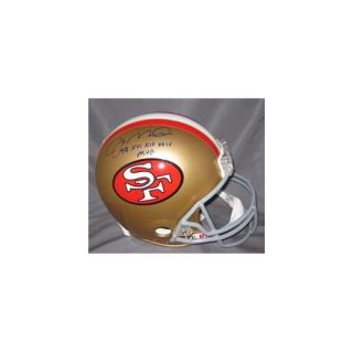 Radtke Sports RS PRO 239 Joe Montana Signed San Francisco 49ers Authentic Helmet SB XVI, XIX, XXIV MVP
