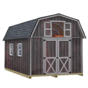 Best Barns Woodville 10 ft. x 16 ft. Wood Storage Shed Kit with Floor including 4x4 Runners woodville_1016df