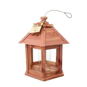 Cedar Works Gazebo Bird Feeder 100080629
