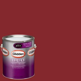 Glidden Team Colors 1 gal. #NFL 181A NFL San Francisco 49ers Red Semi Gloss Interior Paint and Primer NFL 181A SG 01
