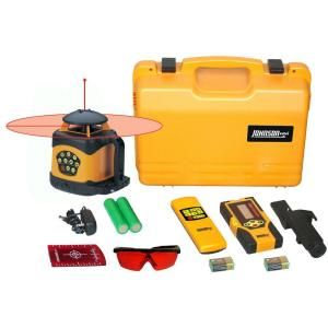 Johnson Electronic Self Leveling Horizontal and Vertical Rotary Laser Level 40 6522