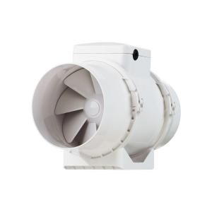 VENTS 327 CFM Power 6 in. Energy Star Rated Mixed Flow In Line Duct Fan TT SILENT 150