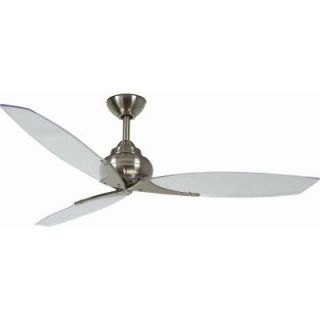 Hampton Bay Florentine IV 56 in. Brushed Nickel Ceiling Fan with Wall Control AC299 BN