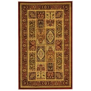 Safavieh Lyndhurst Assorted/Red 4 ft. x 6 ft. Area Rug LNH217B 4
