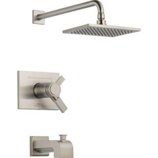 Delta Vero 1 Handle Thermostatic Tub/Shower Trim Kit Only in Stainless (Valve not included) T17T453 SS