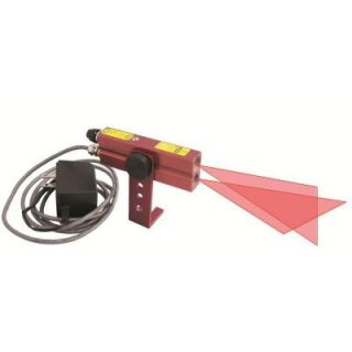 Johnson 110V AC Red Industrial Alignment Cross Line Laser Level 40 6230