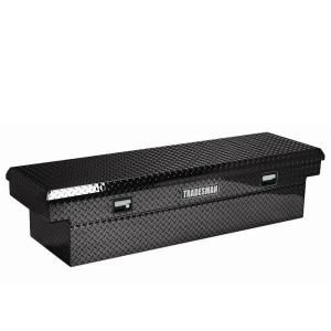 Lund 60 in. Cross Bed Truck Tool Box LALF1660LPBK