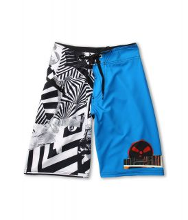 Volcom Kids Blingo Boardshort Boys Swimwear (Blue)
