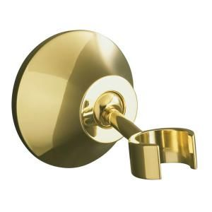 KOHLER Forte Adjustable Wall Mount Bracket in Vibrant Polished Brass K 352 PB