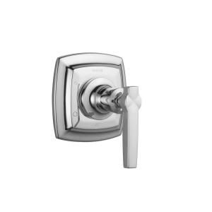 KOHLER Margaux 1 Handle Transfer Valve Trim Kit in Polished Chrome with Lever Handle (Valve Not Included) K T16242 4 CP