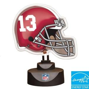 The Memory Company NCAA 8 in. Alabama Crimson Tide Neon Helmet Lamp DISCONTINUED 142551.0