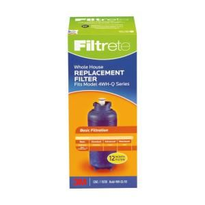 Filtrete Large Capacity High Performance Whole House Pre Filtration System Refill 4WH QS F01