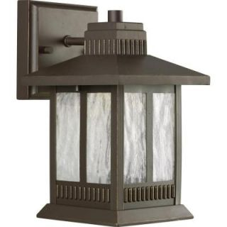 Progress Lighting Greenridge Collection Antique Bronze 1 light LED Wall Lantern P5908 20