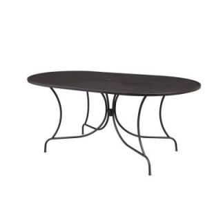 Hampton Bay Vera Oval Patio Dining Table HD14605