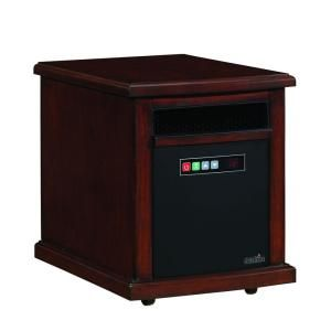 Duraflame Colby 1500 Watt Infrared Quartz Electric Portable Heater   Carmel Oak Finish 10HM1342 O128