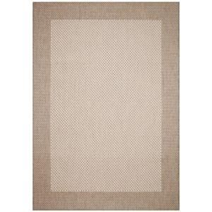 Direct Home Textiles Simple Border Khaki 5 ft. x 7 ft. 5 in. Indoor/Outdoor Area Rug DISCONTINUED 6776 6090 146