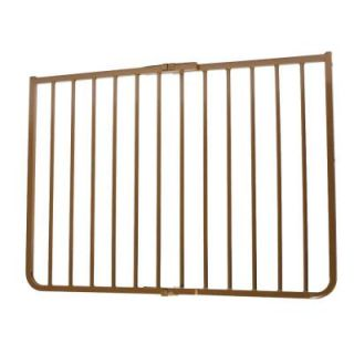 Cardinal Gates 30 in. H x 27 in. to 42.5 in. W x 2 in. D Stairway Special Outdoor Safety Gate in Brown SS30BR ODP