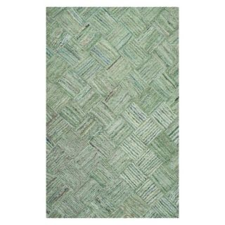 Safavieh Reed Area Rug   Green/Multicolor (5x8)