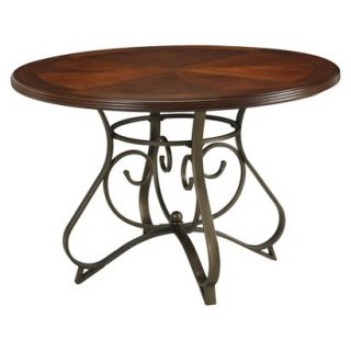 Dining Table Powell Hamilton Dining Table   Brown