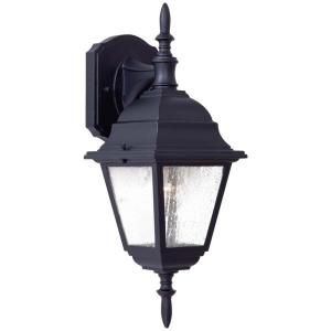 the great outdoors by Minka Lavery Wall Mount 1 Light Outdoor Black Lantern 9067 66