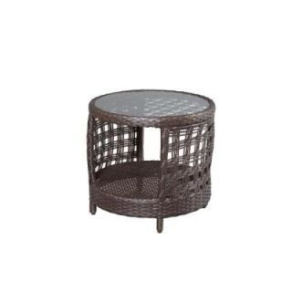 Hampton Bay Haver Hill Patio Side Table 14H 062 ET