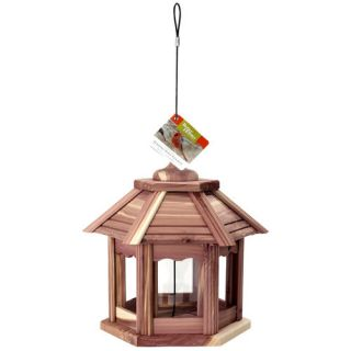 Better Homes and Gardens Cedar Gazebo Bird Feeder Landscape & Garden Decor