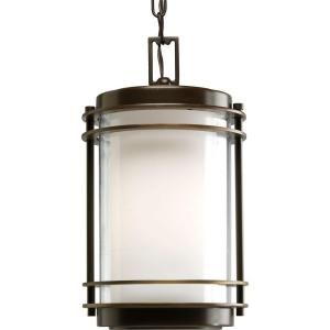 Progress Lighting Penfield Collection Outdoor Hanging Oil Rubbed Bronze Lantern P5503 108