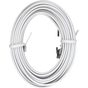 GE 12 ft. 6 Wire Telephone Line Cord with Modular Plugs   White 73698