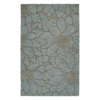 Kaleen Carriage City Park Azure 5 ft. x 7ft. 9 in. Area Rug 6104 66 5x7.9