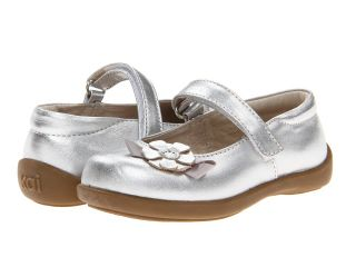 See Kai Run Kids Imelda Girls Shoes (Silver)