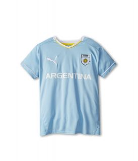 Puma Kids Argentina Tee Boys Short Sleeve Pullover (Blue)