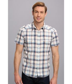 Lucky Brand Summer Western Shirt Mens T Shirt (White)