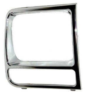 OE Replacement Jeep Cherokee/Wagoneer Passenger Side Headlight Door (Partslink Number CH2513165) Automotive